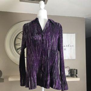 Apt 9 women's blouse size 1X.